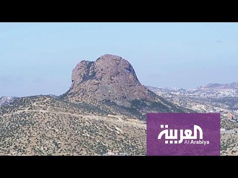 العرب اليوم - شاهد جولة على جبل حرفة في النماص