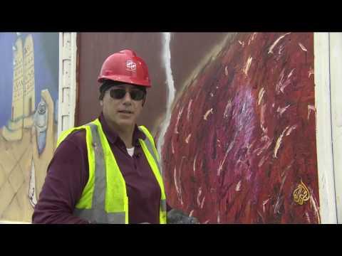 العرب اليوم - بالفيديو تدشين مشروع جداريات كتارا في قطر