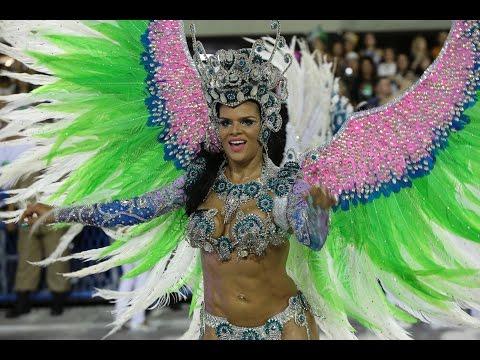 العرب اليوم - بالفيديو  مشاهد جديدة ومميزة من كرنفال البرازيل