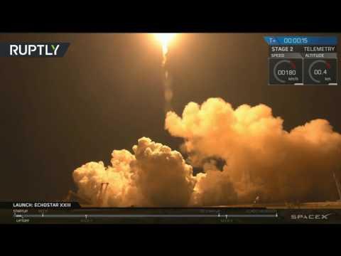 العرب اليوم - شاهد إطلاق ناجح لصاروخ فالكون 9 الأميركي