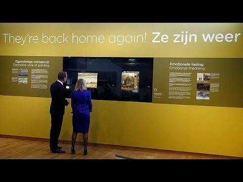 العرب اليوم - شاهد لوحتان لفان غوغ تعودان إلى المتحف في أمستردام