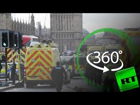 العرب اليوم - شاهد موقع هجوم لندن بتقنية 360 درجة