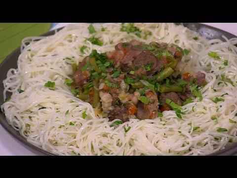 العرب اليوم - بالفيديو طريقة إعداد ومقادير لحم بصوص الخضار