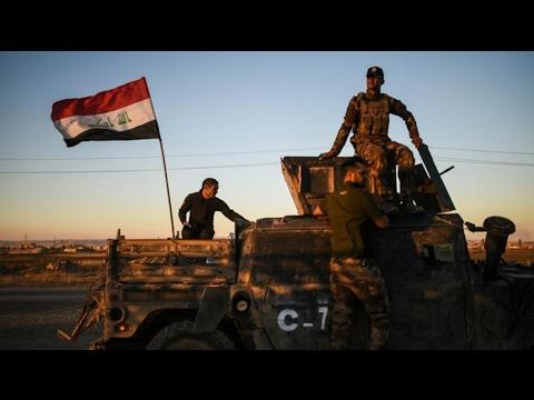 العرب اليوم - شاهد القوات العراقية تبدأ هجومًا واسعًا على أحياء يحتلها داعش