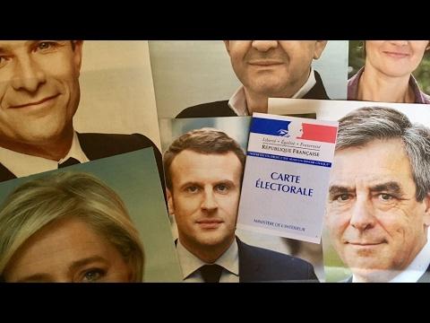 العرب اليوم - شاهد بدء عملية التصويت في الدور الأول من الانتخابات الرئاسية الفرنسية
