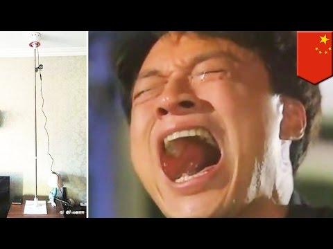 العرب اليوم - بالفيديو رجل صيني يحوّل حياة جيرانه المزعجين إلى كابوس