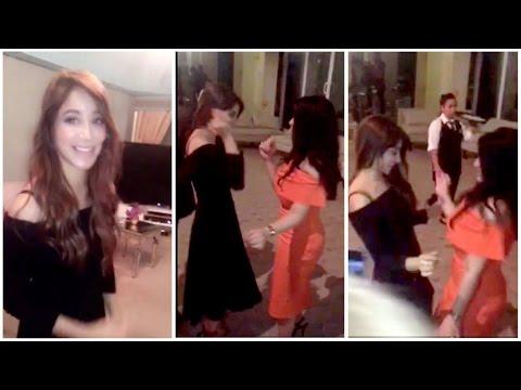 العرب اليوم - بالفيديو أسيل عمران تشعل عيد ميلاد صديقتها بوصلة رقص مميّزة