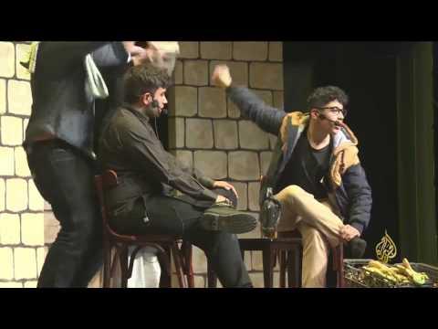 العرب اليوم - سأخون وطني مسرحية تثير قضايا عربية عدة