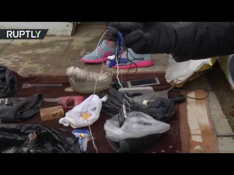 العرب اليوم - شاهد توقيف أنصار داعش في جزيرة سخالين في الشرق الأقصى الروسي