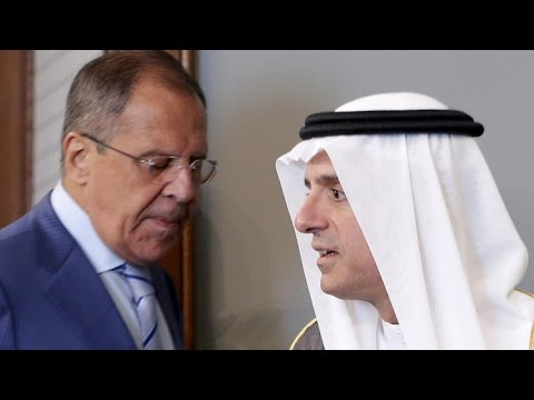 العرب اليوم - شاهد  بدء اللقاء بين سيرغي لافروف وعادل الجبير