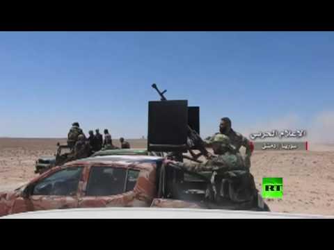 العرب اليوم - الإعلام الحربي السوري ينشر فيديو لمعارك في حي القابون شرق دمشق