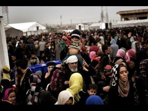 العرب اليوم - بالفيديو  مخيم جديد لإيواء الهاربين من معارك الموصل