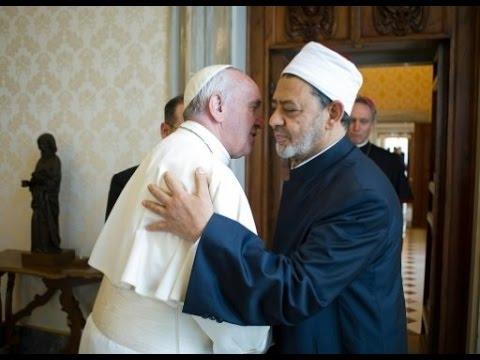 العرب اليوم - بالفيديو  أبرز ما جاء في كلمة البابا فرنسيس خلال مؤتمر الأزهر للسلام