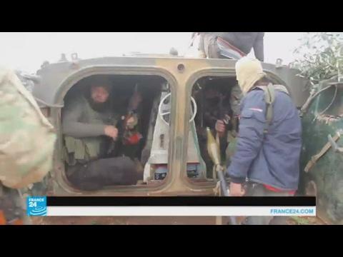 العرب اليوم - شاهد  هجوم لتنظيم داعش على قرى في حماة