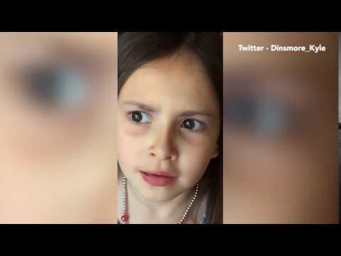 العرب اليوم - ثقة طفلة في نفسها تشعل مواقع التواصل