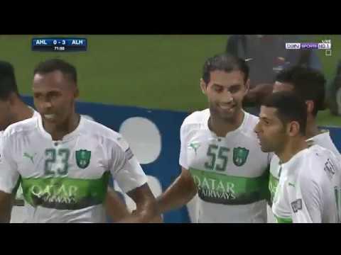 أهداف مباراة فريقي أهلي جدة وأهلي دبي