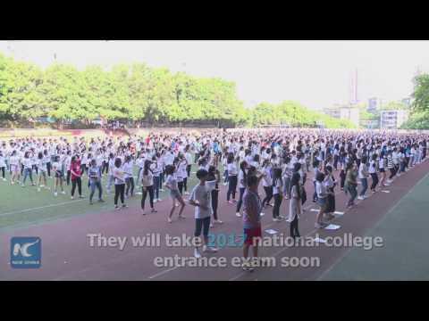 العرب اليوم - تعرف على الطريقة الصينية في تخفيف ضغوط الامتحانات