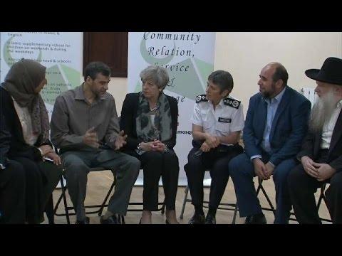 العرب اليوم - شاهد تيريزا ماي تشدّد على محاربة التطرّف أيًا كان كان المسؤول