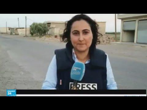 العرب اليوم - شاهد قوات سورية الديمقراطية تتقدم ببطء داخل الرقة