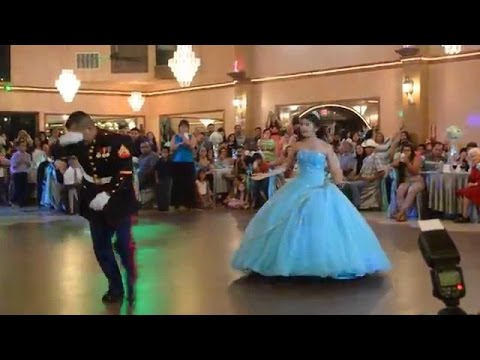 العرب اليوم - أب يذهل الحضور برقصة مع ابنته في عيد ميلادها