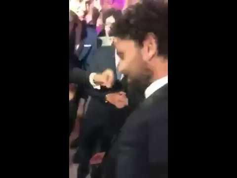 العرب اليوم - شاهد حسام غالي يشعل فرح رمضان صبحي وحبيبة اكرامي بالرقص