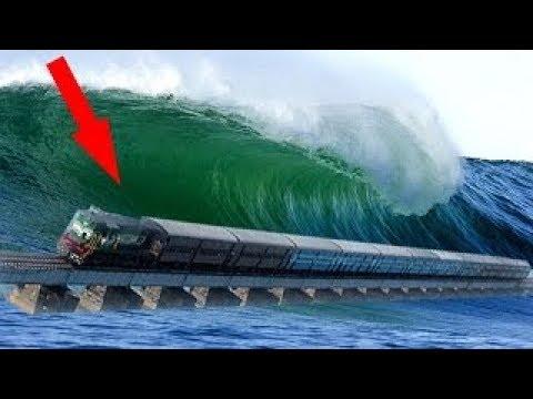 العرب اليوم - بالفيديو  أغرب 10 خطوط سكة حديد في العالم