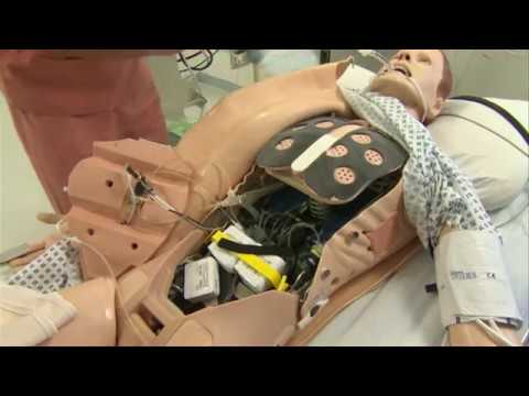 العرب اليوم - شاهد روبوتات بشرية لتدريب الأطباء والممرضين