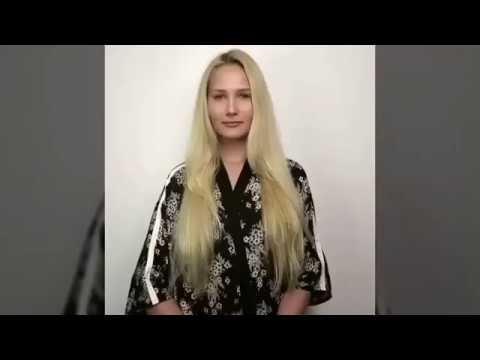 العرب اليوم - بالفيديو  أرادت أن تفاجئ حبيبها فصبغت شعرها بلون مميز