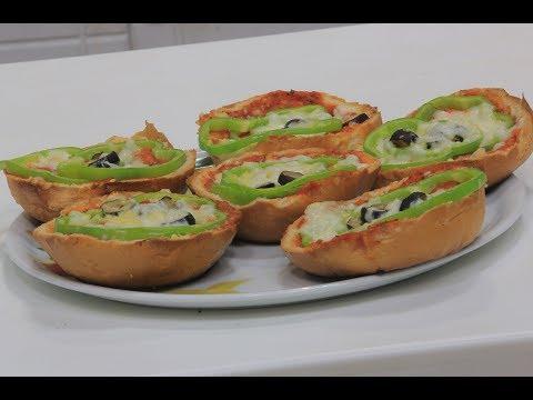 العرب اليوم - بالفيديو طريقة إعداد بيتزا بالخبز