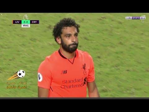 العرب اليوم - شاهد ماذا فعلت جماهير ليفربول عند استبدال محمد صلاح في مباراة ليفربول وكريستال بالاس