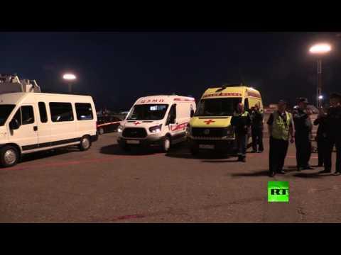 العرب اليوم - طائرة طوارئ تعيد عشرات الروس من اليمن إلى وطنهم