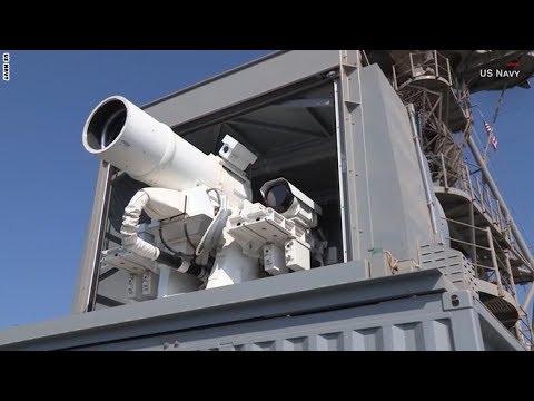 العرب اليوم - شاهد البحرية الأميركية تمتلك أول سلاح ليزر حيّ