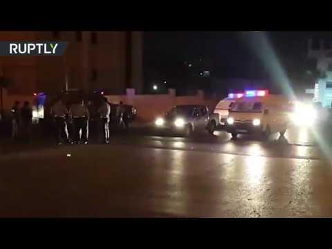 العرب اليوم - شاهد تفاصيل عملية إطلاق النار داخل السفارة الإسرائيلية في عمان