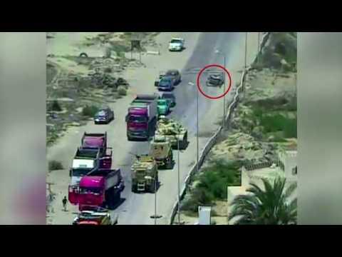 العرب اليوم - شاهد القوات المسلحة المصرية تحبط محاولة لاستهداف أحد الإرتكازات الأمنية