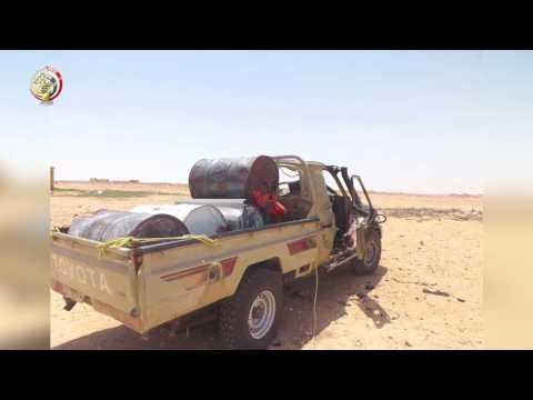 العرب اليوم - القوات المسلحة المصرية تحبط محاولة إرهابية