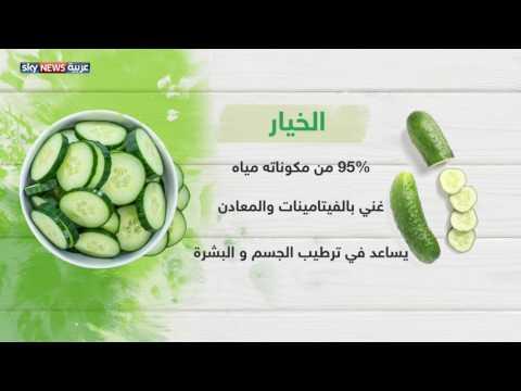 العرب اليوم - شاهد غذاؤك يحارب حرارة الصيف