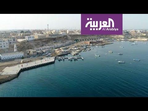 العرب اليوم - شاهد صور جوية لشواطئ مشروع البحر الأحمر في الوجه