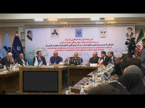 العرب اليوم - شاهد إيران توقع أكبر صفقة لتصنيع السيارات في تاريخها مع رينو
