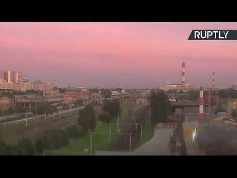 العرب اليوم - شاهد مقاطع جديدة لخسوف جزئي للقمر في سماء موسكو