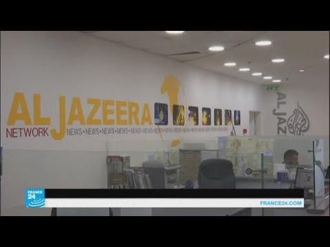 العرب اليوم - شاهد مساعٍ إسرائيلية متواصلة لإغلاق قناة الجزيرة