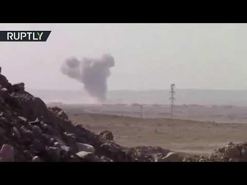 العرب اليوم - شاهد عمليات عسكرية مكثفة في محافظة دير الزور
