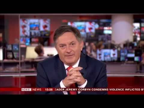 العرب اليوم - شاهد رد فعل مذيع bbc لحظة قراءة خبر لا يعجبه
