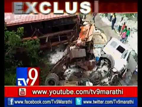 العرب اليوم - حادث عنيف على طريق مومباي يتسبب في انهيار جسر حاويات