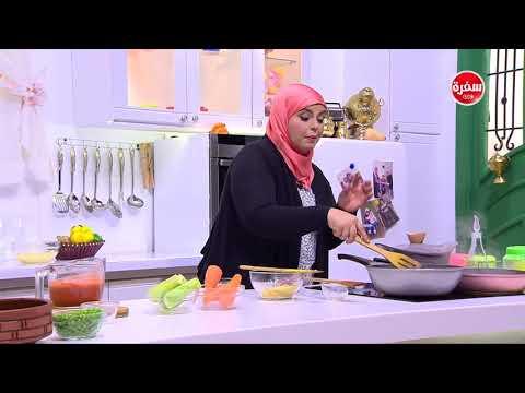 العرب اليوم - شاهد طريقة إعداد طاجن شعرية بالخضار