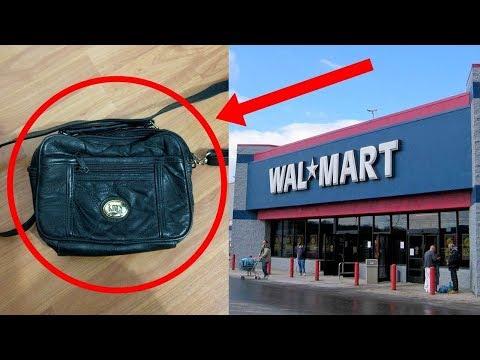 العرب اليوم - شاهد مرأة اشترت حقيبة من وول مارت