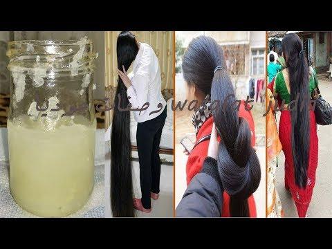 العرب اليوم - بالفيديو  وصفة رائعة تساعد على إطالة الشعر
