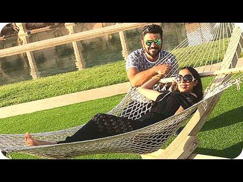 العرب اليوم - دنيا بطمة تقضي إجازتها مع زوجها محمد الترك في هذا المكان الرائع