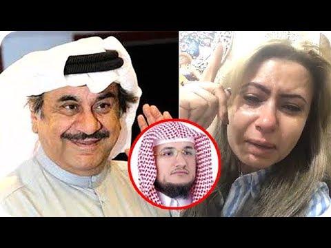 العرب اليوم - بالفيديو  مي العيدان تنهار بالبكاء بعد رحيل عبد الحسين عبد الرضا