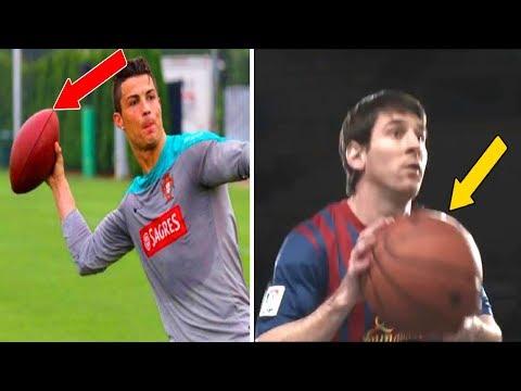 العرب اليوم - شاهد ممارسة لاعبي كرة القدم رياضة مختلفة