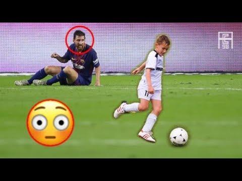 العرب اليوم - شاهد إبداع لأطفال في كرة القدم